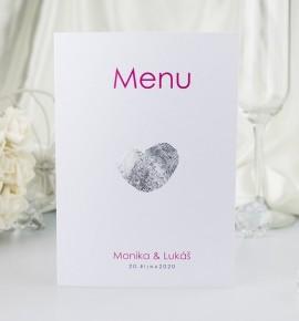 Svatební menu M2060