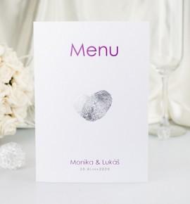 Svatební menu M2060B