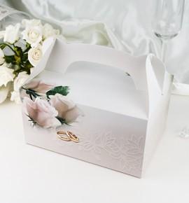 Svatební krabička na výslužku K1054