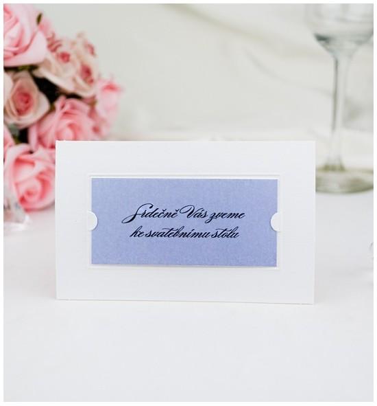 Pozvánka ke svatebnímu stolu P2006