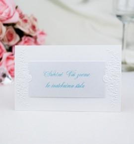 Pozvánka ke svatebnímu stolu P2007B