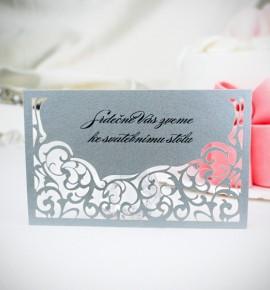 Pozvánka ke svatebnímu stolu P2008B