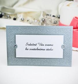 Pozvánka ke svatebnímu stolu P2010