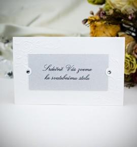 Pozvánka ke svatebnímu stolu P2012