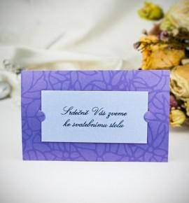 Pozvánka ke svatebnímu stolu P2015