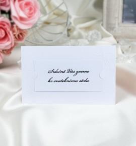 Pozvánka ke svatebnímu stolu P2017B