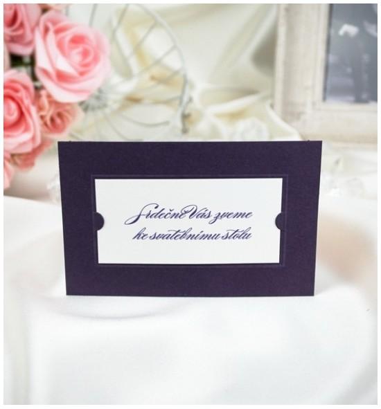 Pozvánka ke svatebnímu stolu P2018