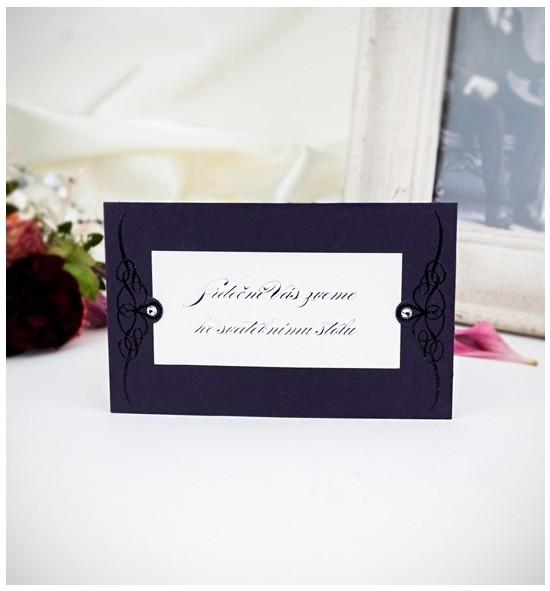 Pozvánka ke svatebnímu stolu P2019A