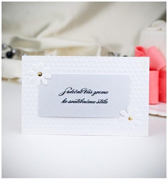 Pozvánka ke svatebnímu stolu P2020B