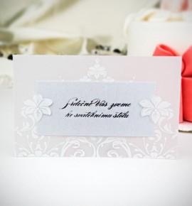 Pozvánka ke svatebnímu stolu P2022