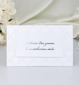 Pozvánka ke svatebnímu stolu P2055