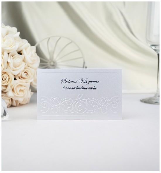 Pozvánka ke svatebnímu stolu P901