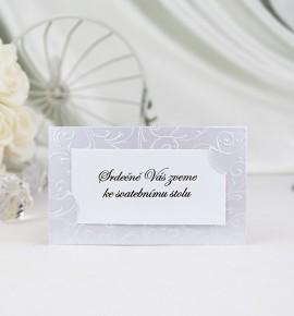 Pozvánka ke svatebnímu stolu P904