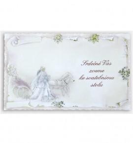 Pozvánka ke svatebnímu stolu P918