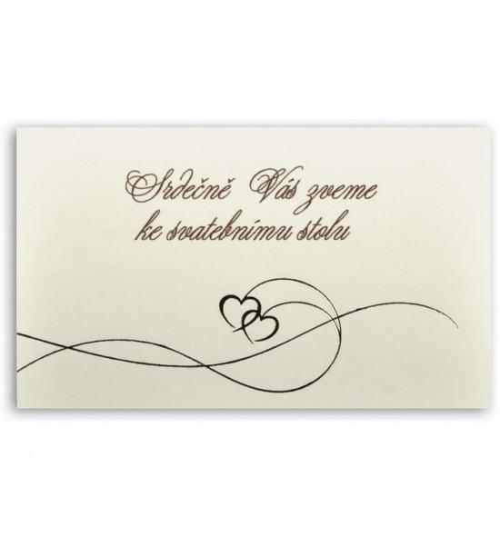 Pozvánka ke svatebnímu stolu P920A