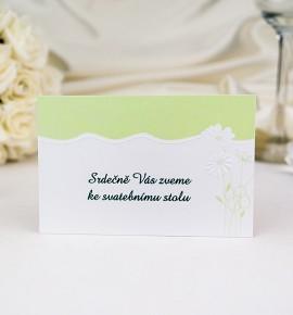 Pozvánka ke svatebnímu stolu P923