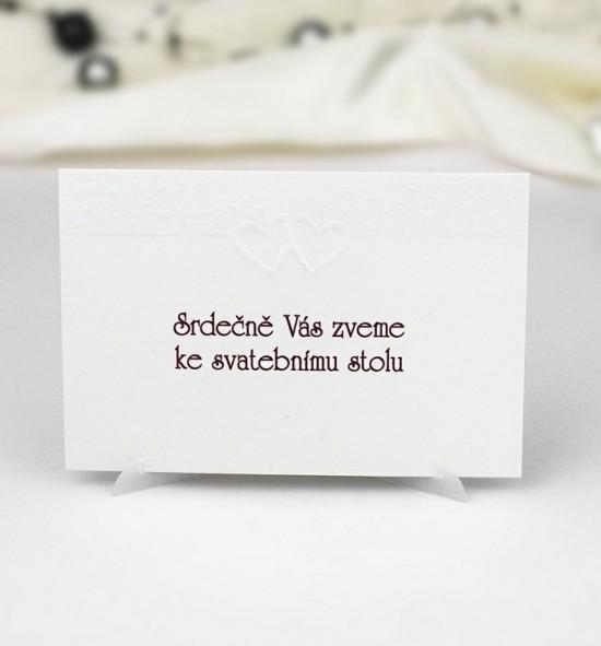 Pozvánka ke svatebnímu stolu P942