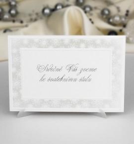Pozvánka ke svatebnímu stolu P943