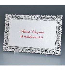 Pozvánka ke svatebnímu stolu P964