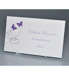 Pozvánka ke svatebnímu stolu P970