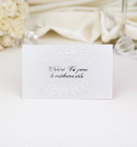 Pozvánka ke svatebnímu stolu P971