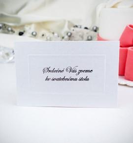 Pozvánka ke svatebnímu stolu P972