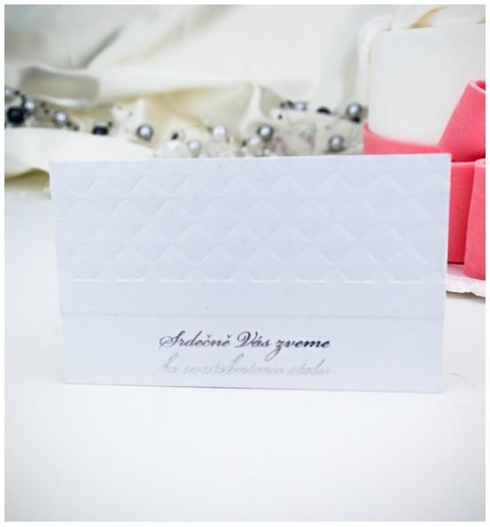 Pozvánka ke svatebnímu stolu P975