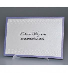 Pozvánka ke svatebnímu stolu P976