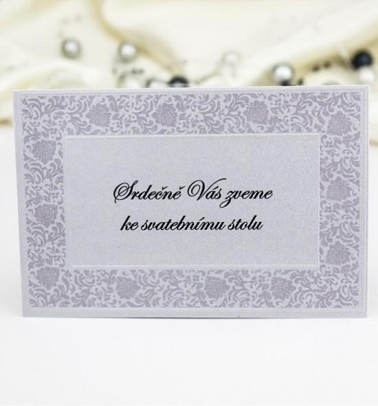 Pozvánka ke svatebnímu stolu P984