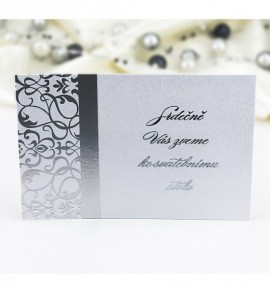 Pozvánka ke svatebnímu stolu P987B