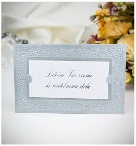 Pozvánka ke svatebnímu stolu P991B