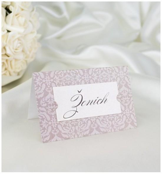Svatební jmenovka J2048