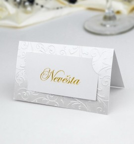 Svatební jmenovka J904