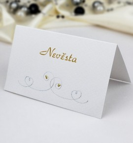 Svatební jmenovka J928