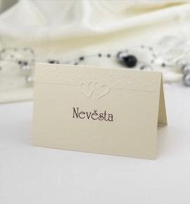 Svatební jmenovka J942