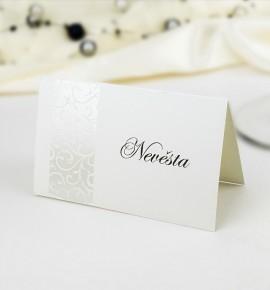Svatební jmenovka J949