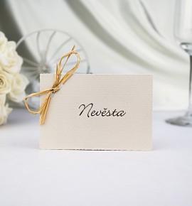 Svatební jmenovka J951