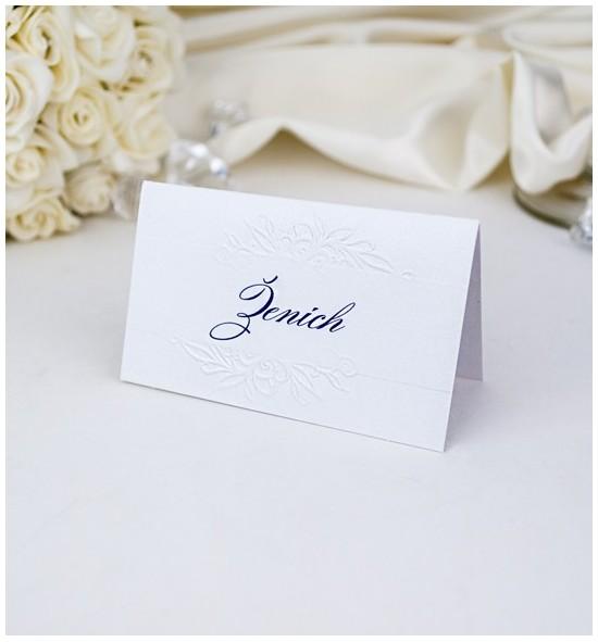 Svatební jmenovka J971