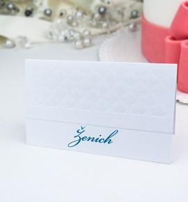 Svatební jmenovka J975