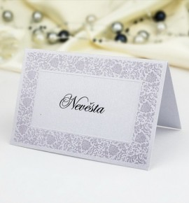Svatební jmenovka J984