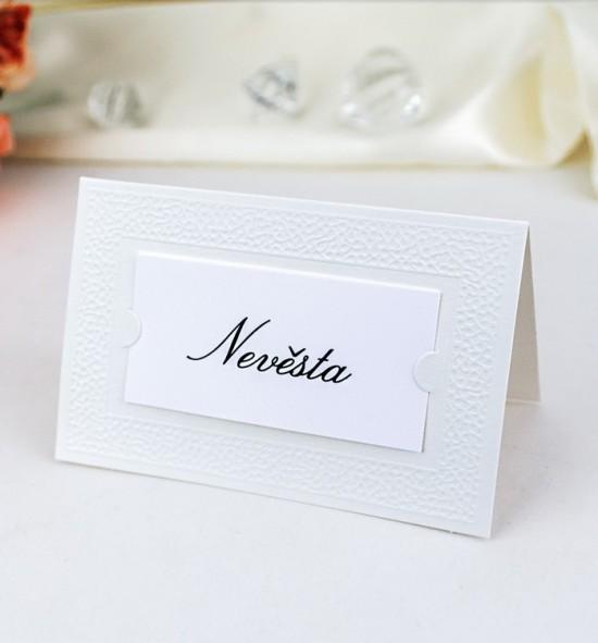Svatební jmenovka J991