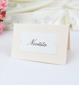 Svatební jmenovka J991C