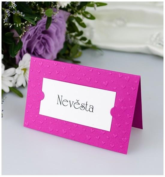 Svatební jmenovka J2011