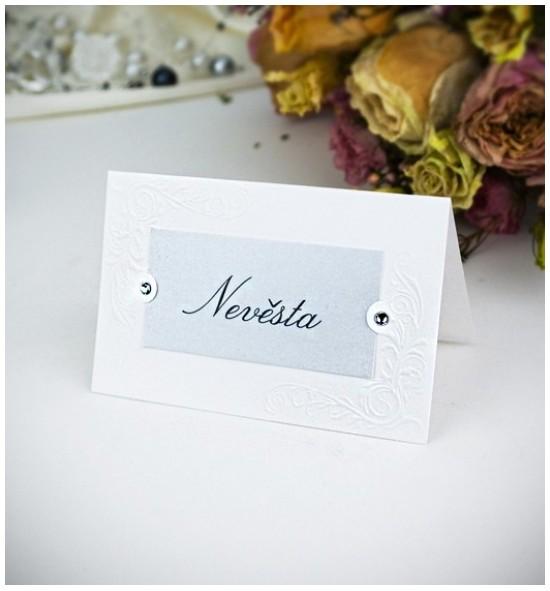 Svatební jmenovka J2012