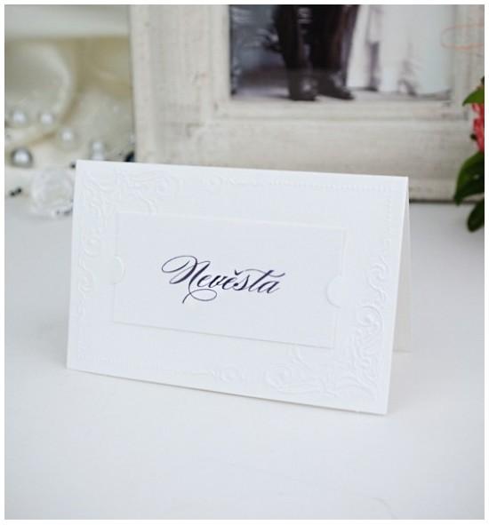 Svatební jmenovka J2021