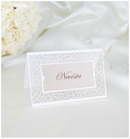Svatební jmenovka J2036