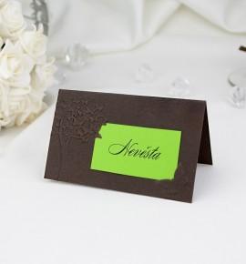 Svatební jmenovka J2039