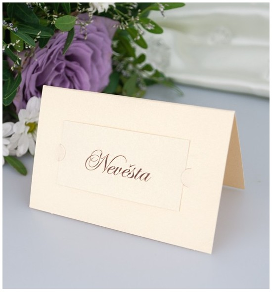 Svatební jmenovka J2051