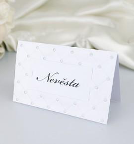 Svatební jmenovka J2053B
