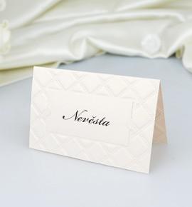 Svatební jmenovka J2054
